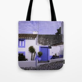 Home in Nazare Tote Bag