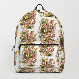 Ernst Haeckel Nepenthaceae Pitcher Plant Backpack