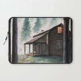Cabin in the Pines Laptop Sleeve