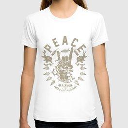 Rock & peace T-shirt