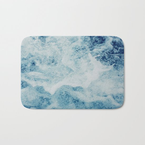 Sea Splash Bath Mat