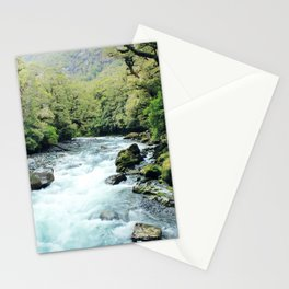 New Zealand river Stationery Cards