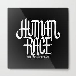 Human Race Metal Print