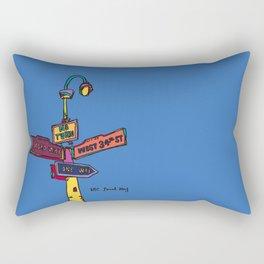 Traffic signal Rectangular Pillow