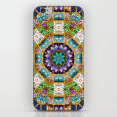 HEAVEN 17 mandala iPhone & iPod Skin