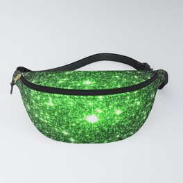 galAxy. Stars Lime Green Fanny Pack