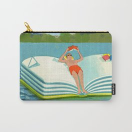 Summer Reading on the Lake Carry-All Pouch