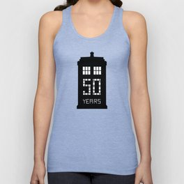 dr who 50 th Unisex Tank Top