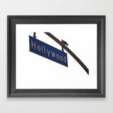 Hollywood Framed Art Print