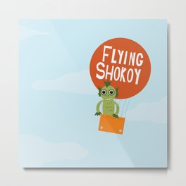 Flying Shokoy (Philippine Mythological Creatures Series #4) Metal Print