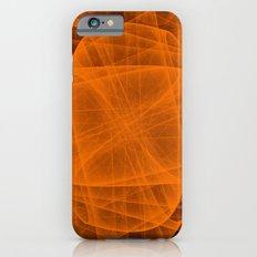 Eternal Rounded Cross in Orange Brown iPhone 6s Slim Case
