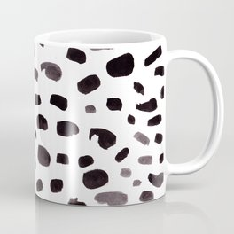 Dalmation Spots Painted Watercolor Pattern Coffee Mug