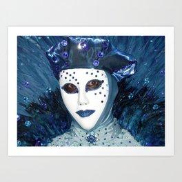 Carnevale di Venezia Art Print