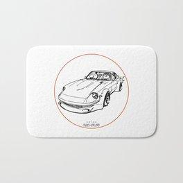 Crazy Car Art 0074 Bath Mat