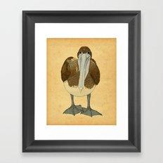 Ploffskin Pluffskin Pelican Jee Framed Art Print