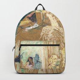 """Henri de Toulouse-Lautrec """"Au Bal masqué de l'Elysée Montmartre"""" Backpack"""