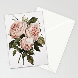 Three English Roses Stationery Cards