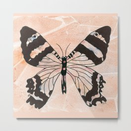 Ethereal Butterfly Metal Print