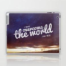 HE has overcome the world Laptop & iPad Skin