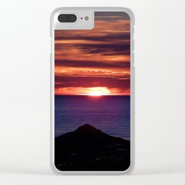 Dawn on the Sea Clear iPhone Case