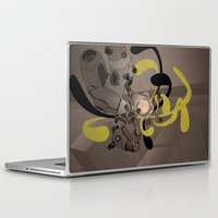 fullmetal alchemist Laptop & iPad Skins featuring The Alchemist 014 by Alex.Raveland...robot.design.digital.art
