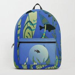 Designer Aquarium Fish Story Backpack