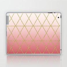 Rose Gold Geometric Laptop & iPad Skin