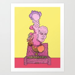Tuned Out Art Print