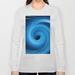 Eye Of The Storm Fiber Optic Light Painting Long Sleeve T-shirt