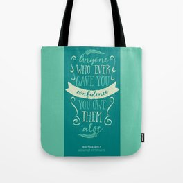 Breakfast at Tiffany's Holly Golightly Tote Bag
