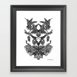 Perceive Your Happiness  Framed Art Print