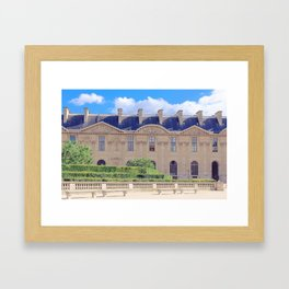 Louve Square, Paris Framed Art Print
