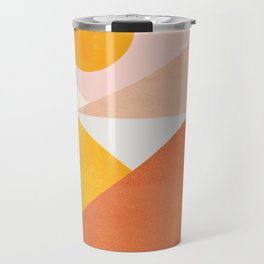 Abstraction_Mountains Travel Mug