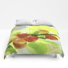 nanking cherry Comforters