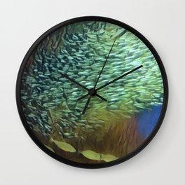 In the Fish Bowl II Wall Clock