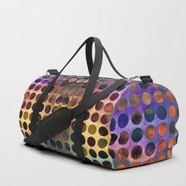 MELANGE of VIOLET and RUST Duffle Bag