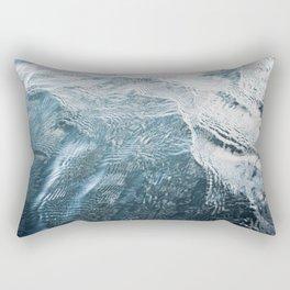 Blue Water   Landscape Photography   Blue   Ocean   Sea   Waves   Beach   Moody  Travel Rectangular Pillow