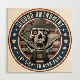 Second Amendment Wood Wall Art