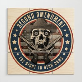 Second Amendment Wood Wall Art