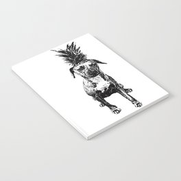 Pineapple Pup Notebook