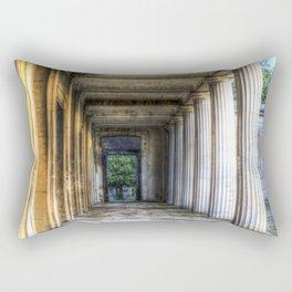 Kensal Green Cemetery  Colonnade Rectangular Pillow
