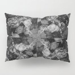 Botanical Darkness Kaleidoscope Pillow Sham