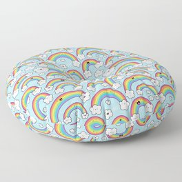 Rainbows Everywhere! Floor Pillow