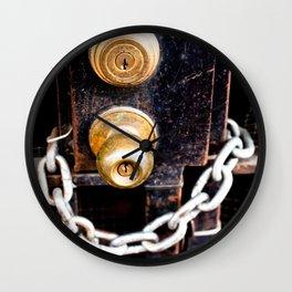 Locked 2011 Wall Clock