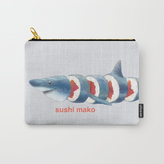 Sushi Mako (color option) Carry-All Pouch