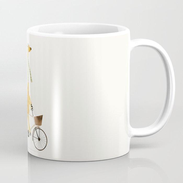 lets tandem giraffes Coffee Mug