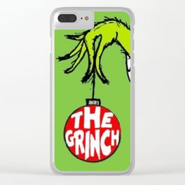 The Grinch Clear iPhone Case