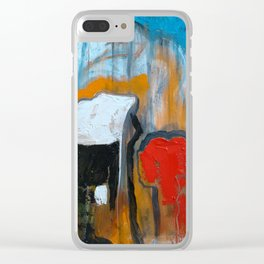 A Putty Mess Emerges Clear iPhone Case