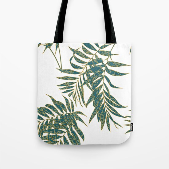 Fire Leaves Tote Bag
