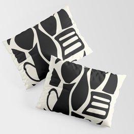 Black carafe Pillow Sham